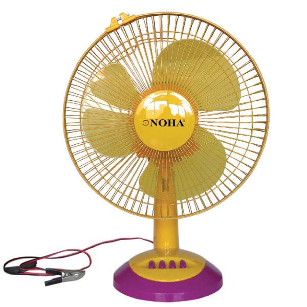 12' Table Solar Fan