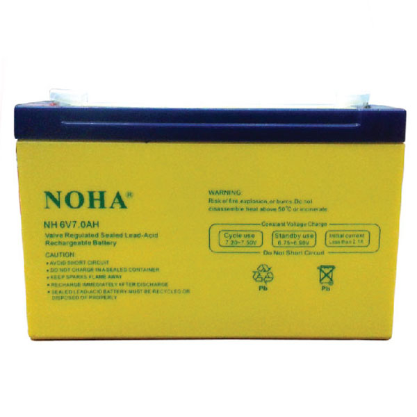 NH 6V 7AH Rechargeable Battery