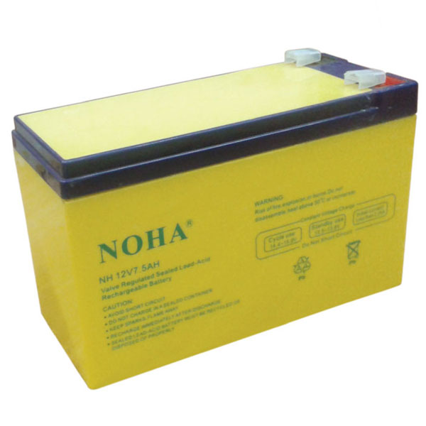 NH 12V 7.5AH Rechargeable Battery