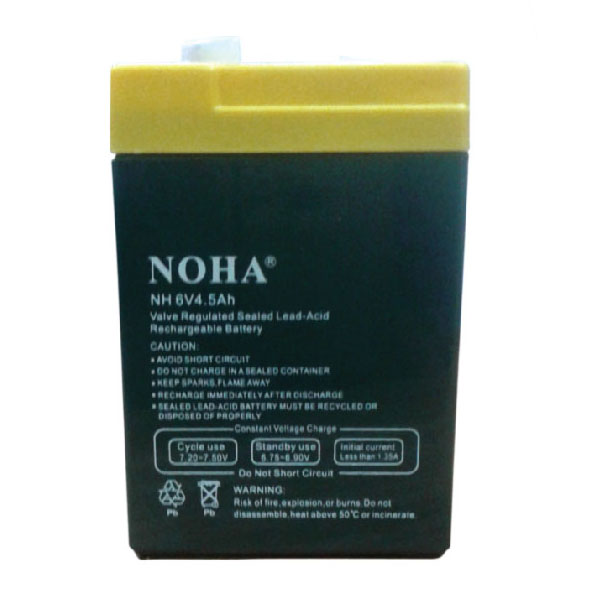 NH 6V 4.5AH Rechargeable Battery